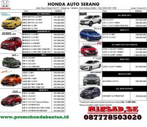 Syarat Kredit Honda 2019