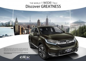 HONDA CRV 1.5 TURBO 2020